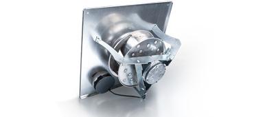 Vrijloop ventilatoren