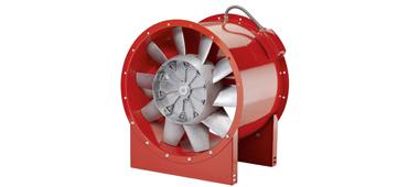 Brandgas ventilatoren