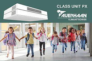 21.09 Swegon CLASS UNIT PX, doeltreffende ventilatie voor klaslokalen